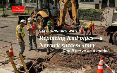 REPLACING LEAD PIPES – A NEWARK SUCCESS STORY
